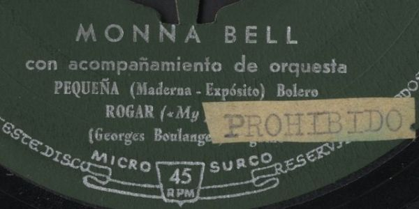 Disc prohibited begging. Monna Bell