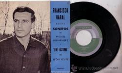 Francisco Rabal portada del disco
