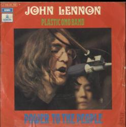 Power to the people. John Lennon